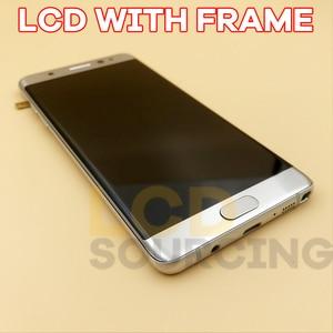 Image 4 - Pantalla LCD AMOLED de 5,7 pulgadas para móvil, montaje de digitalizador con pantalla táctil N935F, N935F/DS, para Samsung Note 7, N930F