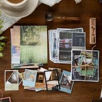 Yoofun 42 Pcs Geschichte von zeit Schreibwaren sticker pack DIY Scrapbooking Kugel Journaling Deco collage material Stick in notebook