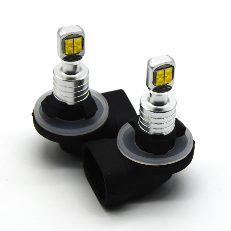 2pcs H1 <font><b>H3</b></font> 880 881 H21 <font><b>LED</b></font> auto fog lamp car auto headlight Driving Bulb white powered by <font><b>cree</b></font> chips XBD image