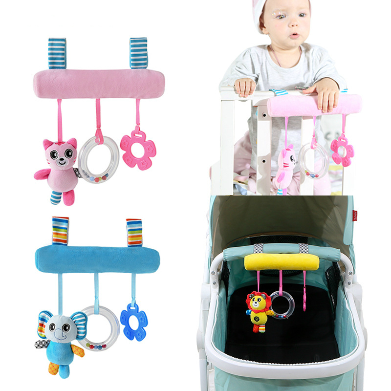 Soft Infant Crib Bed Stroller Toy Spiral Baby Toys For Newborns Car Seat Educational Rattle Baby Towel Education Toys NTDIZ1035