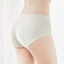 Youpin Sexy High Waist Seamless Underwear Seamless Pie Comfortable High Elasticity Briefs Knickers for Woman Girl