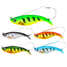 YUZI Fishing Lures Artificial Wobblers Lifelike Hard Baits VIB Bass Vibration Fish Tackle Hook Isca Pesca 8.5cm 21.2g