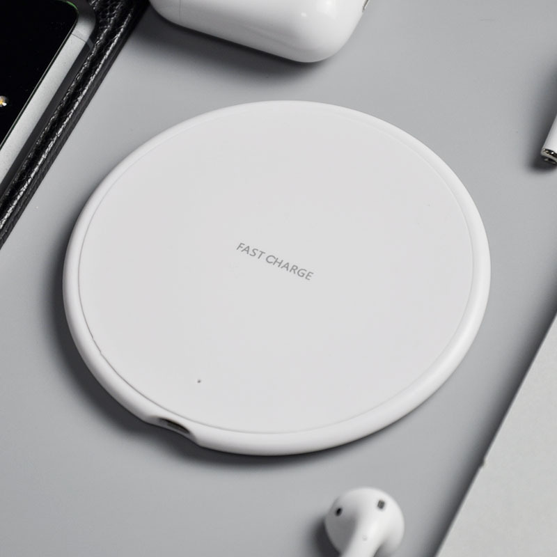 100PCs 10W QI quick Wireless Charger Charging Induction USB Charger for iPhone 8 Plus/ X XS XR for Samsung Galaxy S8/S8 Plus
