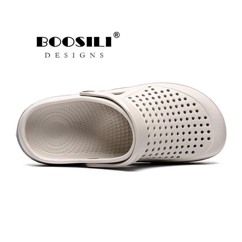 Image 4 - Sapato Feminino جديد رجل إيفا صندل عالية الجودة الرجال حذاء للحديقة الصيف الصنادل تنفس قباقيب خفيفة الوزن حجم كبير 45صنادل رجاليةأحذية -