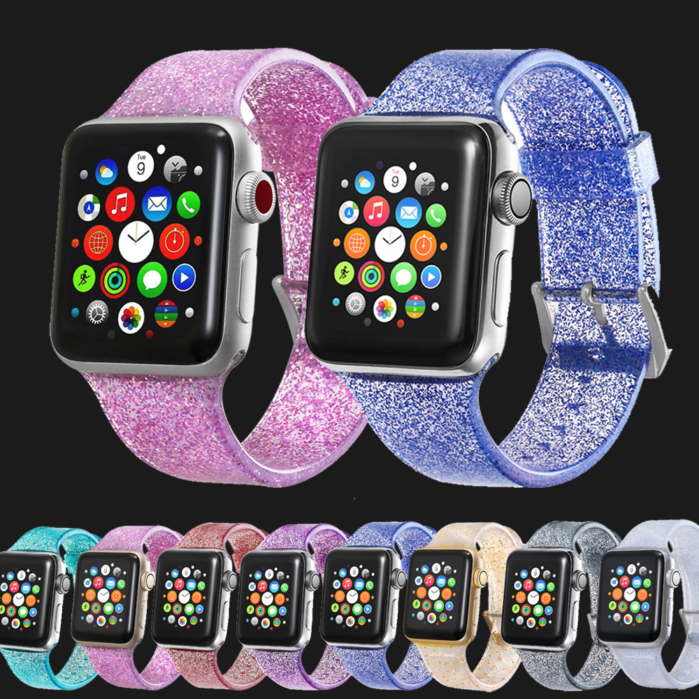 Strap For Apple Watch Bands 42mm 44mm 38mm 40mm Apple Watch 4 3 2 1 Sport Band IWatch Series 4 3 Silicone Bracelet Watchband