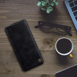 Image 5 - Caes for Xiaomi Mi Note 10/10 Pro/CC9 Pro Nillkin Qin Series PU Leather Flip Cover For Xiaomi Mi Note 10 Case