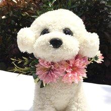 Свадебные ошейники для кошек собак цветочный головной убор милый