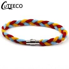CUTEECO Handmade Weaving Rope Bracelets For Women Charm Girl Wishing Punk Bracelet 2019 Hot Sale Vintage Jewelry