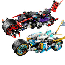 2019 Ninjagoes Toys The Street Race of Snake Jaguar Compatible Legooods 70639 Building Blocks  for Children Gift