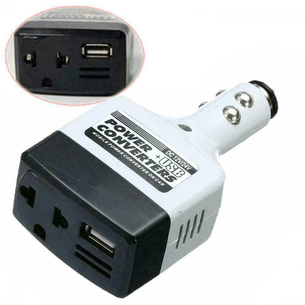 12V/24V Car Mobile Power Inverter Adapter Auto Car Power Converter Charger Used For All Mobile Phone