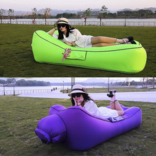 FAST Inflatable โซฟา Sleeping เก้าอี้ Inflatable โซฟา Lazy Relaxing Beach โซฟาวางกระเป๋า 2019 แนวโน้มกลางแจ้งเฟอร์นิเจอร์