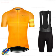 Raphaful 2019 Cycling Set Triathlon Bicycle Clothing Breathable Mountain Cycling Clothes Suits Ropa Ciclismo Verano Gobikeful(China)