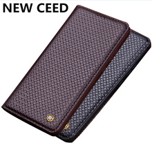 Luxury Business Magnetic Holder Genuine Real Leather Flip Case For Samsung Galaxy S10 Plus/Samsung Galaxy S10 5G Phone Case Capa