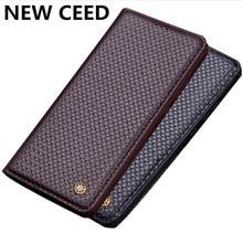 Luxus Geschäft Magnetischen Halter Echte echtem Leder Flip Fall Für Samsung Galaxy S10 Plus/Samsung Galaxy S10 5G telefon Fall Capa