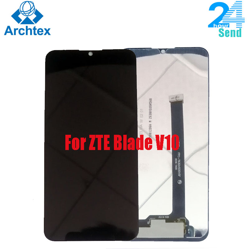 For ZTE Blade V10  LCD Display and Touch Screen Screen Digitizer Assembly Replacement Tested 6.26 Inch