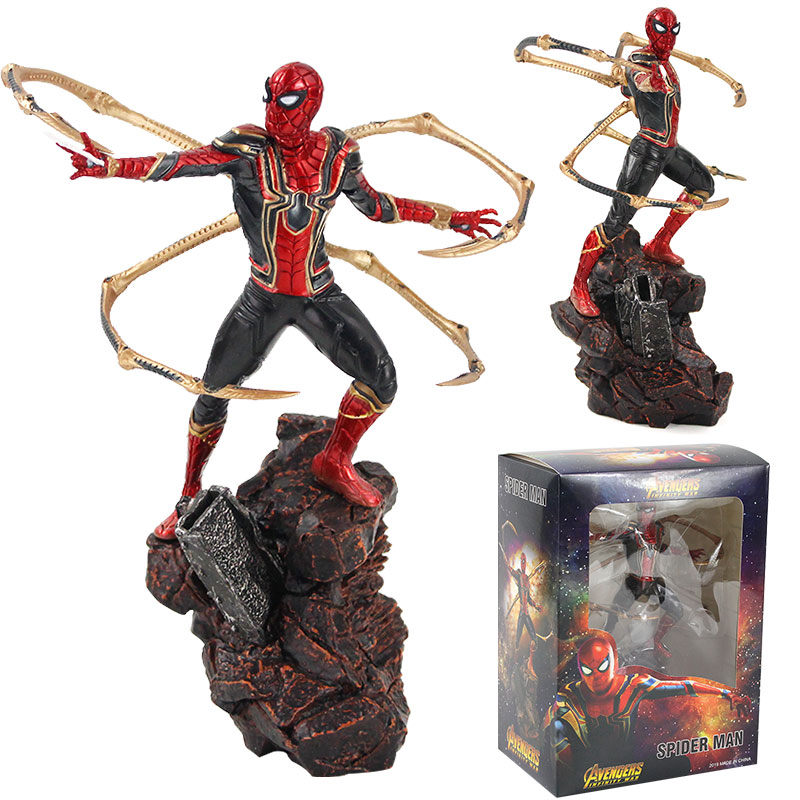 Iron Spider-Man Marvel Avengers Infinity War Action Figure Gift Collectible Toys