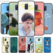 Call Me by Your Name Cases for Samsung Galaxy J8 J6 J4 Plus A9 A7 A8 A6 2018 M40 M20 M10 M30 S Black Silicone Soft Cover(China)