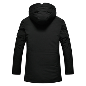 Image 5 - Зимняя бархатная Мужская парка с капюшоном, ветровка хорошего качества, толстая ветрозащитная Повседневная куртка для мужчин 2020, Теплая мужская парка 5XL