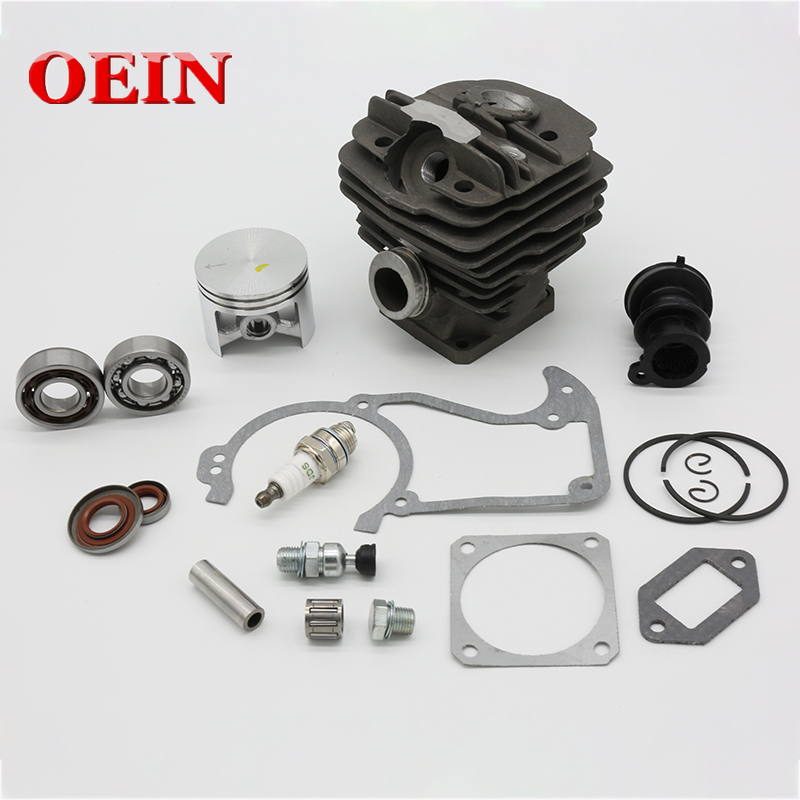 48mm Cylinder Piston Spark Plug Gasket Bearing Oil Seal Kit Fit For STIHL 036 MS360 MS 360 Chainsaw Spare Parts 11250201206