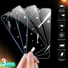 3 sztuk szkło ochronne na Huawei Honor 10 20 9X 9A 9S 8X 8C 8A 8S szkło hartowane Honor 9 10 20 Lite Film tanie tanio XRTPCN Anti-Blue-ray CN (pochodzenie) Przedni Film 9H HD Tempered Glass on the For Huawei Honor 8X 9H HD Tempered Glass on the For Huawei Honor 8S