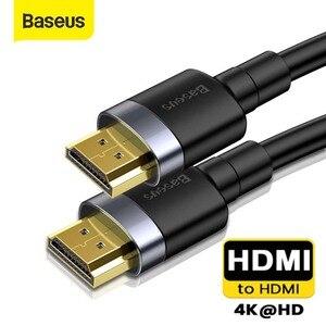 Image 1 - Baseus HDMI vers HDMI adaptateur HDMI câble câbles vidéo 2.0 4K 3D câble HD TV répartiteur commutateur HDMI câble pour PS3 PS4 TV ordinateur