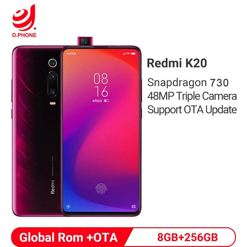 Global Rom Xiaomi Redmi K20 8GB 256GB Snapdragon 730 Octa Core 4000mAh Pop-up Front Camera 48MP Camera AMOLED 6.39