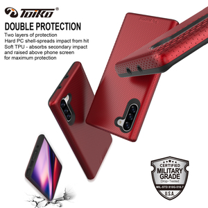 Image 5 - Toiko X Guard Dual Layer Schokbestendig Case Voor Samsung Galaxy Note 10 Telefoon Cover Note 10 Plus Soft Tpu Hard pc Robuuste Armor Shell