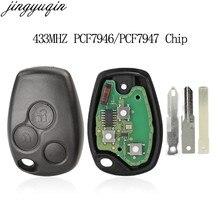 Llave remota billeave 434MHZ PCF7946 Chip para Renault Trafic viretro Primastar Movano 3 botones sin llave Control Fob