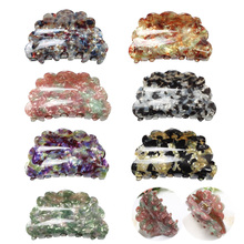 Butterfly Hair Claw Acrylic Acetate Clip Korean High Quality Hairpin Plastic Crab Clamp Accessories