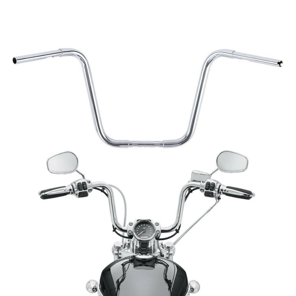 SLMOTO 14 Rise 1-1//4 Adjustable Ape Handle Bar Handlebar Fit For Harley Sportster