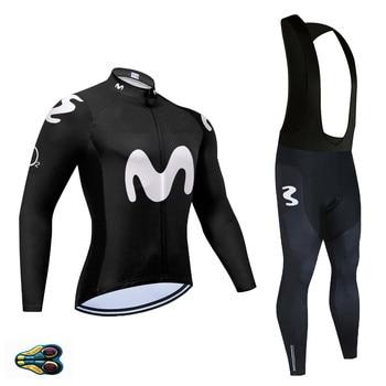 Team MOVISTAR-Maillot de Ciclismo para hombre, Ropa de Ciclismo para primavera y...