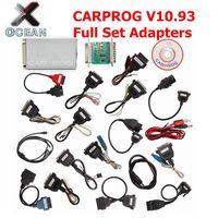 Newest CARPROG V10.93 Carprog V10.93 Car Prog ECU Chip Tunning Car Repair Tool Carprog 10.93 With All 21 Items Adapters