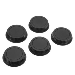 Mayitr Rear-Lens-Cover Black Canon Camera Dust Eos-Series Plastic New 5pcs for EF ES-S