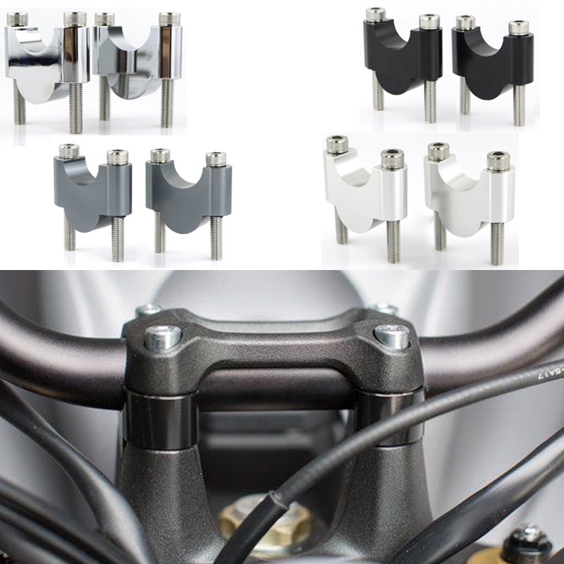 28mm 1 1 8inch Motorcycle Handlebar Risers Mount Fat Bar Risers For BMW S1000R R nineT F800GS F800GSA