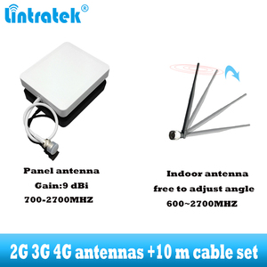Image 4 - lintratek GSM 900 WCDMA 2100 Cellular signal booster dual band 2G 3G repeater mobile Cell phone communication 2100MHZ amplifier