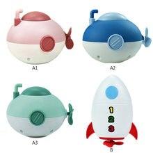 Детская игрушка для ванны милая маленькая подводная лодка ракета