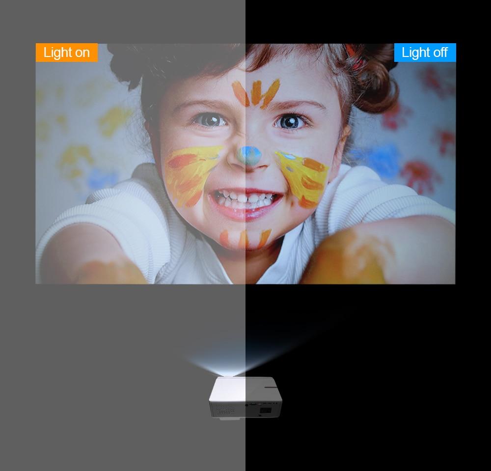 Thundeal TD96 1080P Mini portatil projector full hd com 7000 lumens 3d android video led projetores de home beamer cinema em casa  wifi proyector smartphone para epelhamento celular  sincronização   Oferta-5