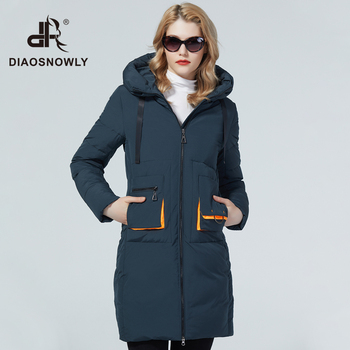 Diaosnowly 2020 fashion thick winter jacket women hooded coats and jackets long for women warm jacket winter outwear coat female winter clothes women fashion woman parkas long dugujunyi 2019 winter jacket women thick snow wear winter coat lady clothing female jackets parkas