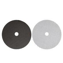 HiFi z włókna węglowego CD DVD stabilizator mata górna taca odtwarzacz gramofon Amp stożek głośnik Pad