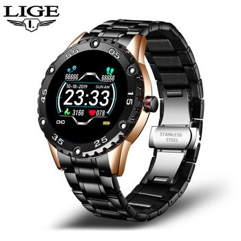 LIGE New Smart Watch men And women Sports watch Blood pressure Sleep monitoring Fitness tracker Android ios pedometer Smartwatch 8