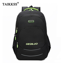 купить New Male Backpacks School Bag Boys For Teenagers High Quality Nylon Backpack Unisex Laptop Casual Travel School Bags Hot Sell по цене 838.24 рублей