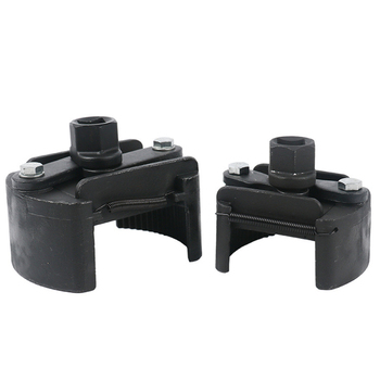 Klucz do filtra es uniwersalny odlew stalowy regulowany 2 szczęki klucz do filtra oleju klucz do filtra paliwa narzędzie do usuwania filtra paliwa odlewany klucz stalowy tanie i dobre opinie Houkiper Stal z chromu-wanadu Klucz płaski Wielofunkcyjny Oil Filter Wrench
