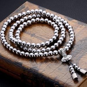 Image 3 - Lohnende Taktische Buddha Perlen Armband EDC Outdoor Werkzeuge Selbstverteidigung Schutz Überleben Halskette Kette Peitsche Dropshipping