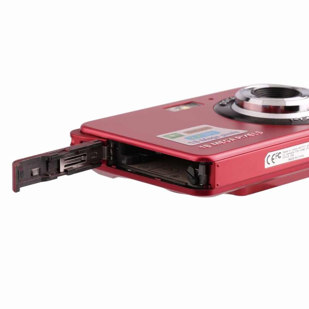 """2.7 """"TFT 液晶 HD 720P 18MP デジタルカメラビデオカメラ CMOS センサー 8X ズーム手ぶれ補正抗赤目デジタルカメラ"""