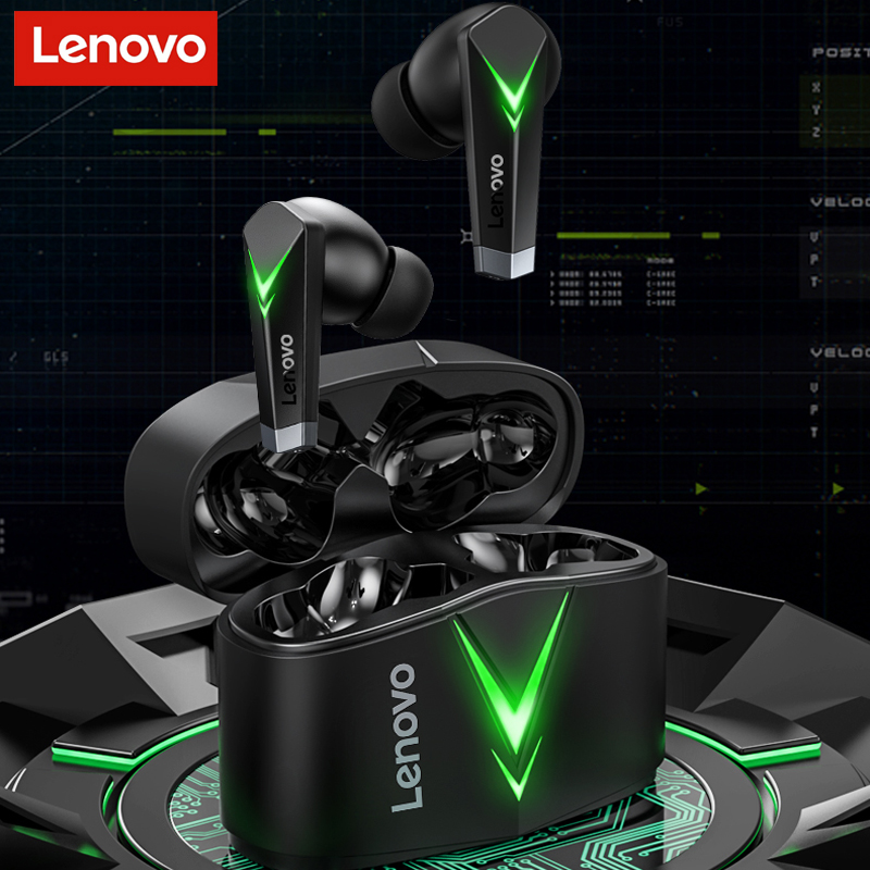 Lenovo LP6 Game Wireless Bluetooth Headphones For E Sports No Delay In...