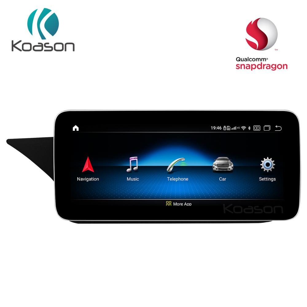 <font><b>Android</b></font> 10.0 Qualcomm <font><b>10.25</b></font> inch Screen Car GPS Navigation for <font><b>Mercedes</b></font> Benz <font><b>E</b></font> <font><b>class</b></font> 10-16 Vehicle Multimedia Player System image