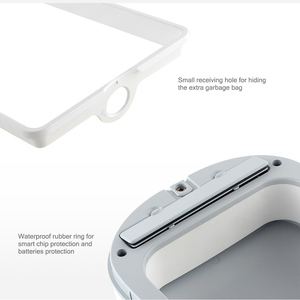 Image 3 - מקורי mijia NINESTARS חכם אשפה חיישן תנועה אוטומטי איטום LED אינדוקציה כיסוי 7/10L בית Ashcan פחי Xiaomi בית חכם