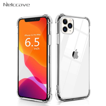 50 Stuks Airbag Shockproof Phone Case Voor Iphone 12 Mini 11 Pro Xs Max Xr X 8 Plus 7 6 se 2020 5 Clear Soft Tpu Transparant Cover