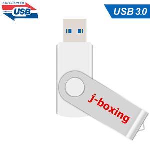 Image 3 - J الملاكمة الأبيض 16GB USB 3.0 فلاش حملة القلم محرك 32GB 64GB المعادن الدورية ذاكرة فلاش عصا usb3.0 عصا للكمبيوتر ماك بوك اللوحي