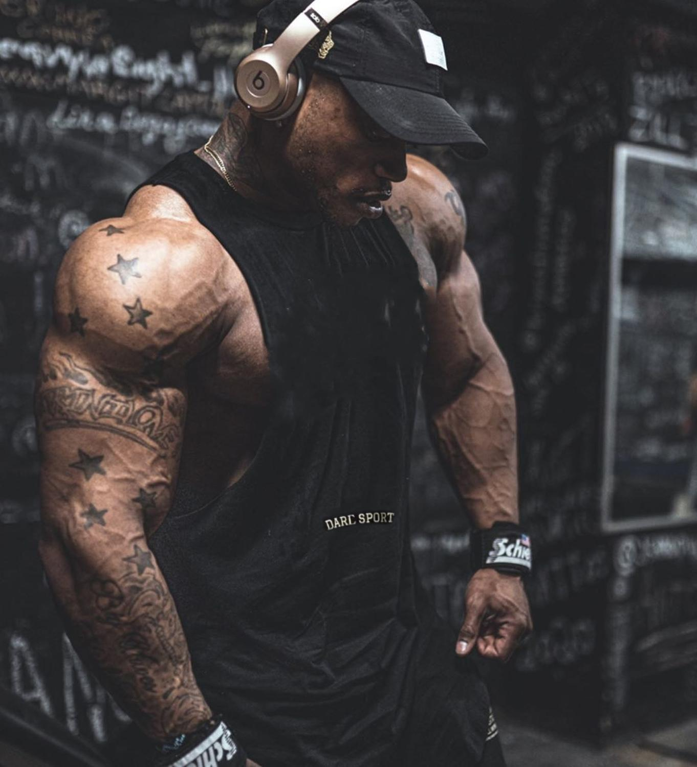 Men casual Fashion O Neck sleeveless tank top Gyms Fitness Bodybuilding trainning vest Summer cool quick